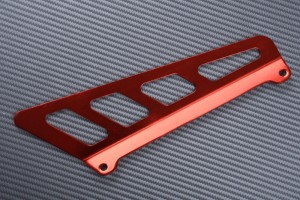 Eloxierter Aluminium-Kettenschutz SUZUKI DRZ 400 E / S / SM 2000 - 2020