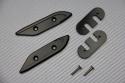 Tapas orificios retrovisores de aluminio anodizado  Yamaha TMAX 530 / 560 2012 - 2020