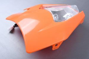 PACK Carenado frontal + Faro numerosas KTM
