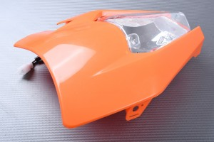 PACK Muso frontale cupolino + Fanale molto KTM