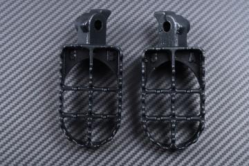 Pair of dirtbike footrests KAWASAKI KLR 650 1987 - 2013