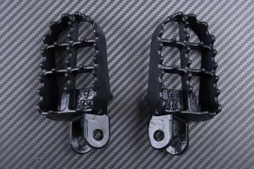 Pair of dirtbike footrests KAWASAKI KLX 250 / 300 / 650 1993 - 2007