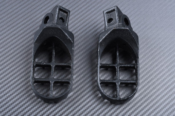 Pair of dirtbike footrests SUZUKI RM 65 / 100 2003 - 2007
