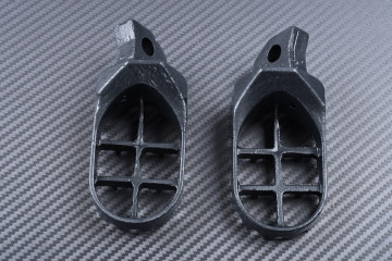 Pair of dirtbike footrests KAWASAKI KX / KDX 125 / 200 / 250 / 500 1988 - 2006