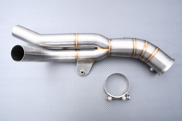 Y Mid Pipe link with Decat YAMAHA YZF R1 2009 - 2014
