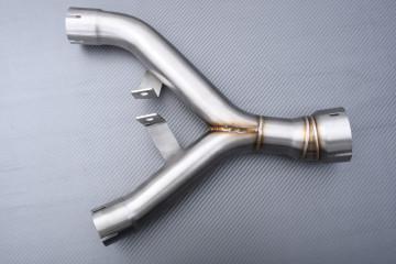 Y Mid Pipe link with Decat KAWASAKI Z1000 / Z1000SX / Z1000R 2010 - 2021