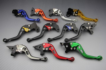 Short brake lever for BMW S1000RR, SUZUKI GSXR, TRIUMPH SPEED STREET TRIPLE 675, KAWASAKI ZX6R, MV AGUSTA F3 675 and 800