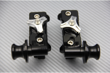 Chain Adjuster with Swingarm Spools YAMAHA MT07 FZ07 & XSR 700