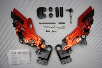 KTM Duke 125 200 390 Rearsets