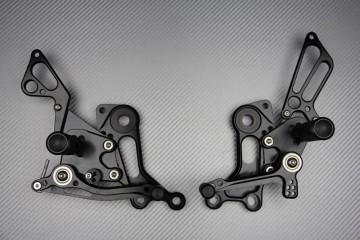 Estriberas retrasadas regulables numerosas Ducati MONSTER