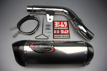 Echappement Yoshimura Inox / Carbone Kawasaki Z800 & Z800E