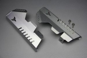 Kühlerblenden aus eloxiertem Aluminium für Yamaha MT07