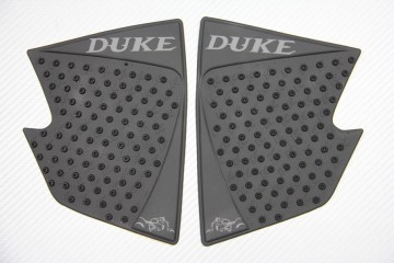 Adhesive tank side traction pads KTM DUKE 125 250 390 2011 - 2016