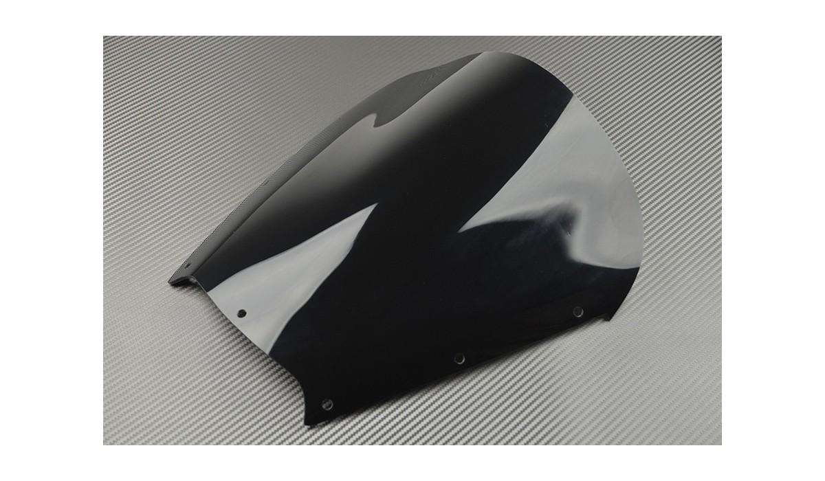 Bulle noire yamaha tdm 900 2002 2014 avdb moto l for Bulle haute 900 tdm