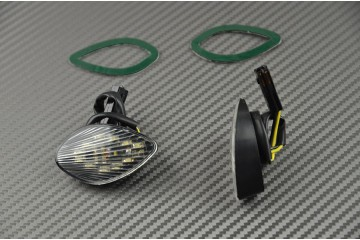 Flush Mount LED turn signals for Honda CBR 600RR 03/14 & 1000RR 04/07