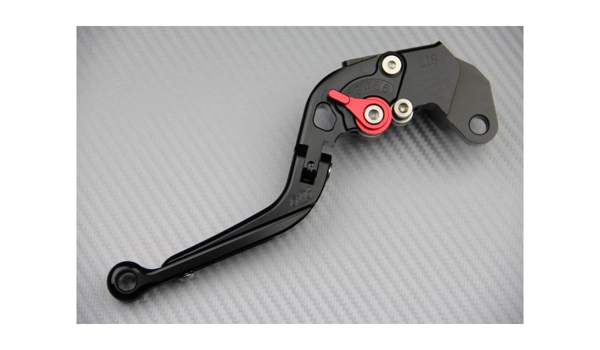 short Brake Clutch Levers /& Handle Grips Handle bar For SUZUKI GSXR600//750 06-10