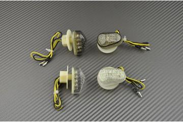 Coppia di indicatori di direzione anteriori per Yamaha R1 2002/14 &  R6 2003/16