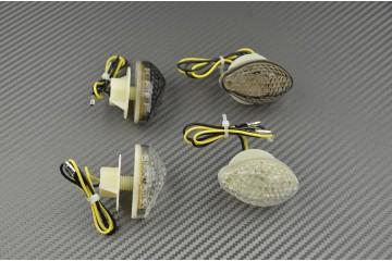 Coppia di indicatori di direzione anteriori LED per Honda