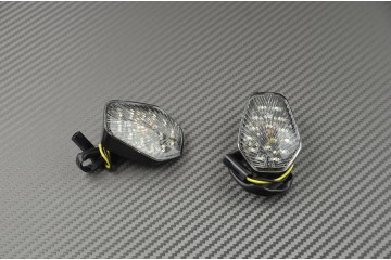 Coppia di indicatori di direzione anteriori per Suzuki Gsxr 600 750 1000