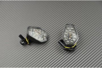 Paire de clignotants avant LED Goutte d'eau Suzuki Gsxr 600 750 1000