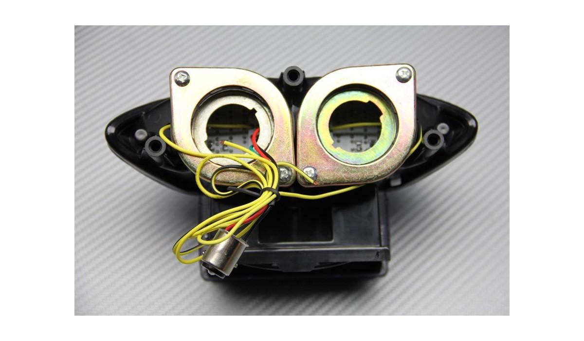 Feu arrière clair clignotant intégré tail light suzuki GSXR 1300 hayabusa 99 07