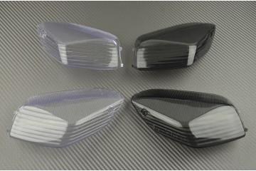Paire de caches clignotants arrière Kawasaki ZZR 1400 06-19, ZX10R 06-07 et GTR 1400