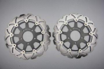 Paar Bremsscheiben (Wellen) Suzuki GSXF KATANA 600 750 2004/06 SV 650 S N 2003/09