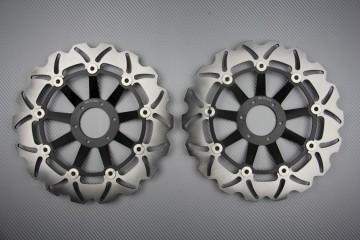 Paar wave Bremsscheiben 296mm HONDA CB 600 HORNET 2000 / 2006