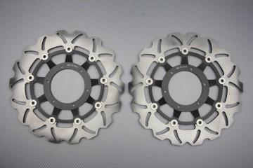 Pair of front Wave brake discs 310 mm Honda CBR 600RR 1000RR CB1000R CB1300