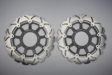 Paar Bremsscheiben wellig Wellen Honda CBR 1000RR 06/07, VTR SP1 SP2