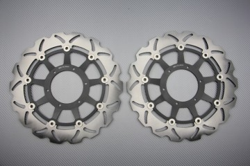 Pair of front brake discs 320 mm for Honda CBR 1000RR 2006-2007, VTR SP1 SP2 / VTR1000R RC51
