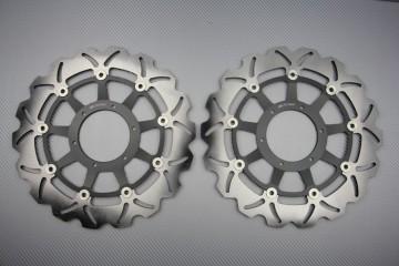 Paire de Disques wave Honda CBR 929 00/01 et 954 RR 02/03