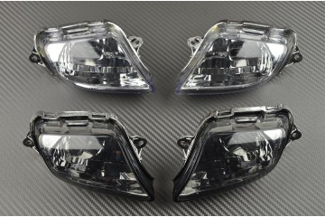 Pair of front turn signals Honda CBR 1100XX 1997 - 2007