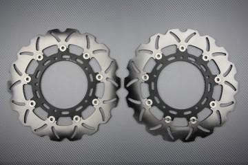 Paar Bremsscheiben (Wellen) Yamaha R6 05 / 19 R1 07 / 19 , FZ8 FAZER 800 , XTZ 1200
