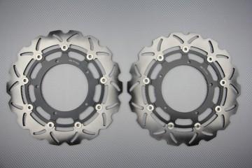 Paar Bremsscheiben (Wellen) Yamaha R1 04 / 06 FAZER 1000 FZ1 06 / 14