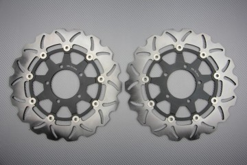 Paar Bremsscheiben (Wellen) viele Kawasaki