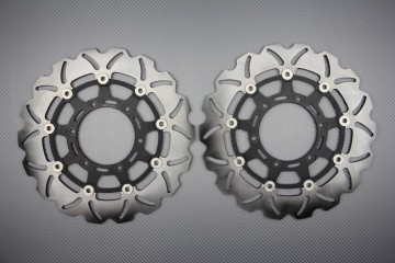 Paar Bremsscheiben (Wellen) SUZUKI GSXR 600 750 K8 L6 GSXR 1000 K9 L5