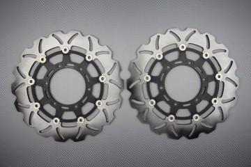 Paar wave Bremsscheiben 310mm SUZUKI GSXR 600 750 K8 L6 GSXR 1000 K9 L5