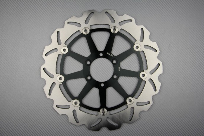 Front solid brake disc 320mm many APRILIA