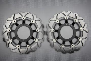 Paar wave Bremsscheiben 296 mm HONDA HORNET 600 /ABS 07/14 CBR 600 F /ABS 11/13