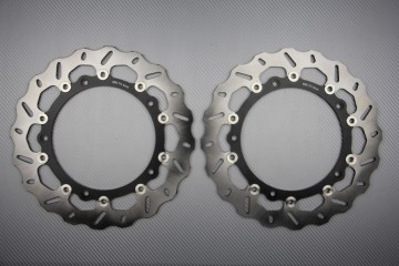 Pair of front brake discs 320 mm for BMW S1000R S1000RR S1000XR