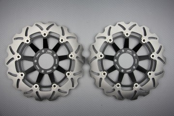 Paar wave Bremsscheiben 300 mm SUZUKI GSXR 750 1985 / 1987
