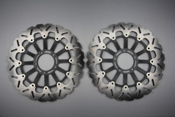 Pair of front brake discs 330 mm for many DUCATI 1098 1198 PANIGALE 1199 1299