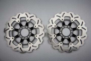 Paar wave Bremsscheiben 276mm viele GSX GSXF 1100 GS 1150