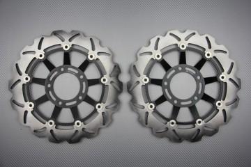 Paar wave Bremsscheiben 320 mm viele TRIUMPH TIGER & Speed Triple 1050