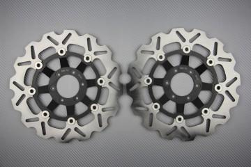 Pair of front brake discs 276 mm for HONDA CBR 250 90-99 & NSR 250 88-98