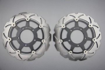 Paar wave Bremsscheiben 280 mm KAWASAKI ZX6R 636 03 / 04