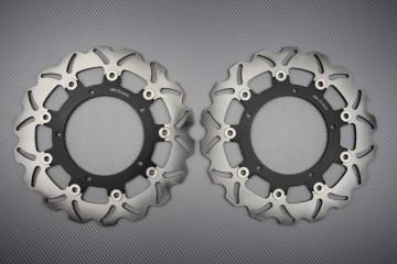 Paar Bremsscheiben (Wellen) Yamaha R6 03/04, FZ6 04/14, MT03 06/14