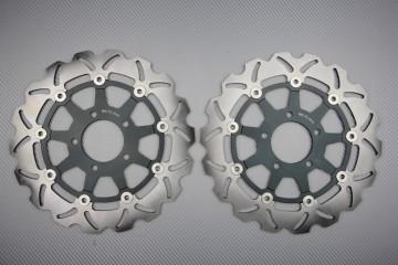 Paar wave Bremsscheiben 300 mm Suzuki GSXR 600 750 K4 K5 GSXR1000 K3 K4