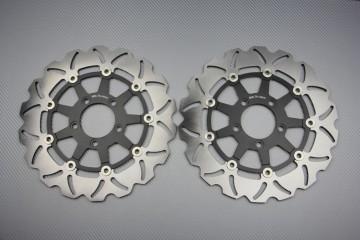 Paar Bremsscheiben (Wellen) Suzuki SV 03 08 VSTROM 650 1000...